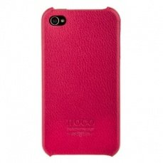 Накладка Hoco для iPhone 4 / 4s Open Face Case фуксия