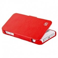 Чехол Hoco для iPhone 5 / 5s Duke folder Leather Case красный