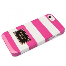 Чехол Michael Kors iPhone 5 / 5s Michael Cover type розовый / белый