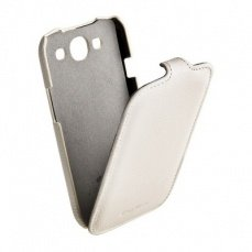 Чехол Melkco для Samsung Galaxy S3 i9300 Leather Case Jacka Type (White LC)