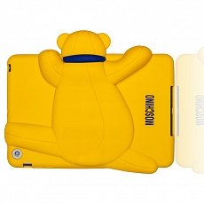 Чехол Moschino для iPad mini / Retina Gennarone Teddy bear желтый