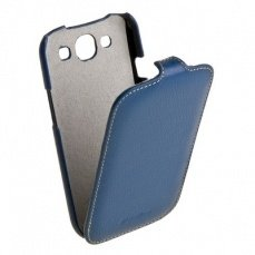 Чехол Melkco для Samsung Galaxy S3 i9300 Leather Case Jacka Type (Dark Blue LC)