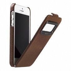 Чехол Hoco для iPhone 5 / 5s Leather Case Marquess коричневый