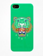 Накладка Kenzo для iPhone 5 / 5s Tiger зеленый