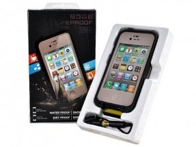 Чехол Lifeproof для iPhone 5 / 5s Frē бежевый