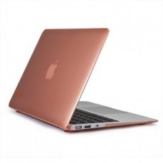 Накладка Speck для MacBook Air 11 SeeThru Wild Salmon бежевая