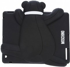 Чехол Moschino для iPad mini / Retina Gennarone Teddy bear черный
