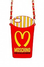 Чехол Moschino для iPhone 5 / 5S Mcdonalds French Fries Pack