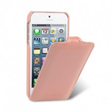 Чехол Melkco для iPhone 5 / 5s Leather Case Jacka Type розовый