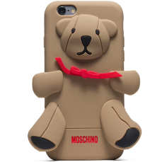 Чехол Moschino для iPhone 6 Bear brown