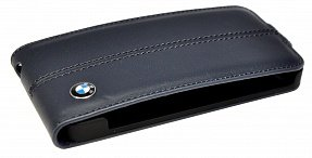 Чехол BMW для iPhone 5 / 5S Signature Flip black
