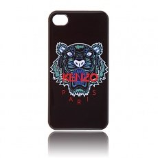 Чехол Kenzo для iPhone 5C Tiger черный