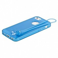 Чехол Hoco для iPhone 5 / 5s Classic TPU Crystal Case Tran синий