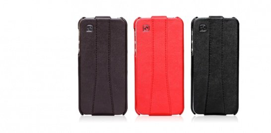 Чехол Hoco для iPhone 5 / 5s Earl Classic Leather Case коричневый