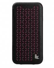 Чехол Jisoncase для iPhone 6 EXECUTIVE black-pink