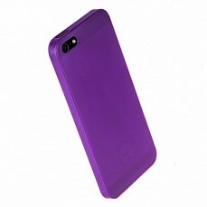Наклада Ozaki для iPhone 5 / 5s O!coat 0.3 Jelly фиолетовая