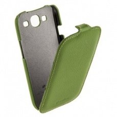 Чехол Melkco для Samsung Galaxy S3 i9300 Leather Case Jacka Type (Green LC)