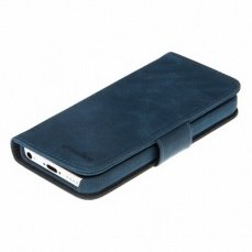 Чехол Melkco для iPhone 5c Leather Case Wallet Book Type Craft Limited Edition Prime Dotta синий