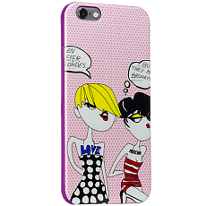 Чехол Moschino для iPhone 6 Fashion Тип 1