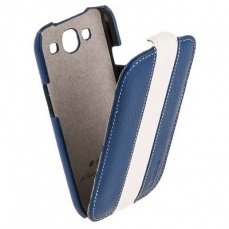 Чехол Melkco для Samsung Galaxy S3 i9300 Limited Edition Jacka Type (Blue / White LC)