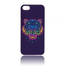 Накладка Kenzo для iPhone 5 / 5s Tiger синий
